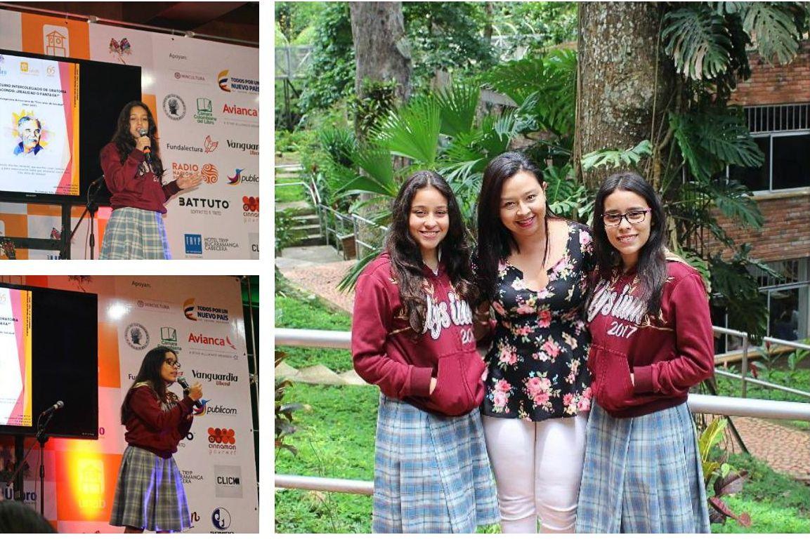 07ad17a0 ... dos estudiantes de nuestra institución participaron en el IV Concurso  de Oratoria organizado por la Universidad Autónoma de Bucaramanga en el  marco de ...